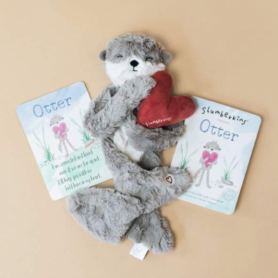Slumberkins Ibex Snuggler Bundle  - Baby Stuffed Animal - Security Blanket - Children's Boutique - Baby Clothing Store - Camp Crib - Big Bear Lake California