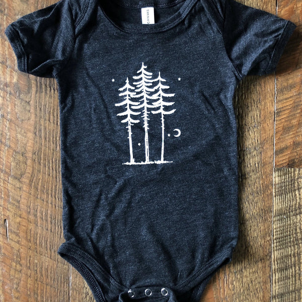 Three Tree Onesie