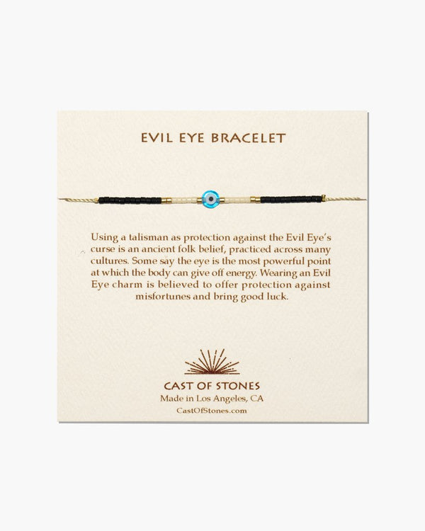 Cast of Stones Evil Eye Bracelet Turquoise with White - Bracelet - Jewelry - Evil Eye - Women's Clothing Store - Women's Accessories - Ladies Boutique - O KOO RAN - Big Bear Lake California