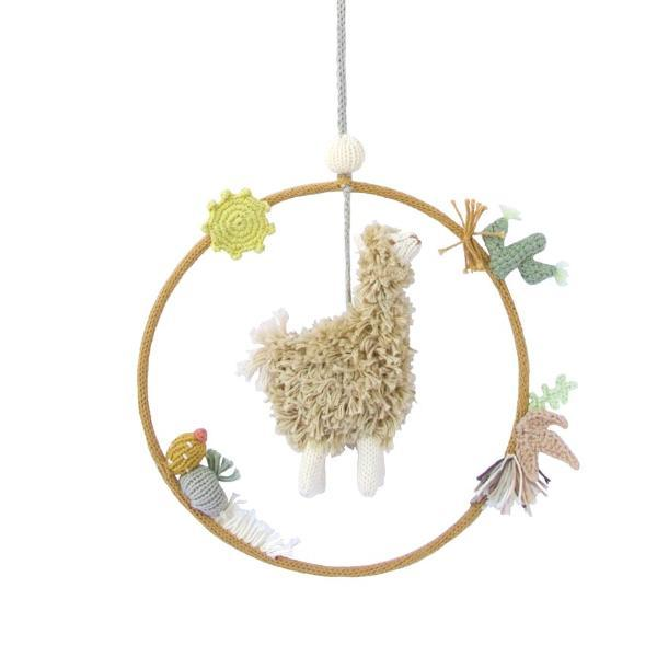 Blabla Kids Alpaca Dream Ring - Handmade - Nursery Decor - Children's Boutique - Baby Clothing Store - Camp Crib - Big Bear Lake California