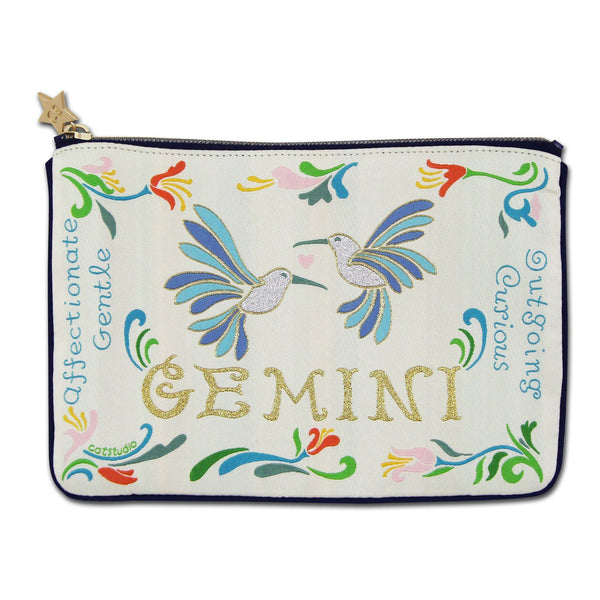 Gemini Astrology Zip Pouch