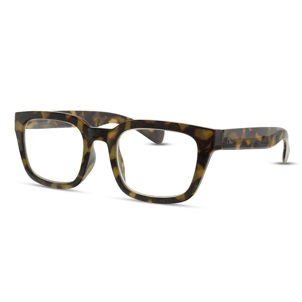 Charlotte Readers - Glasses - Modern Glasses - Modern Readers - Classic - Tortoise Readers - Women's Clothing Store - Women's Accessories - Ladies Boutique - O KOO RAN - Big Bear Lake California