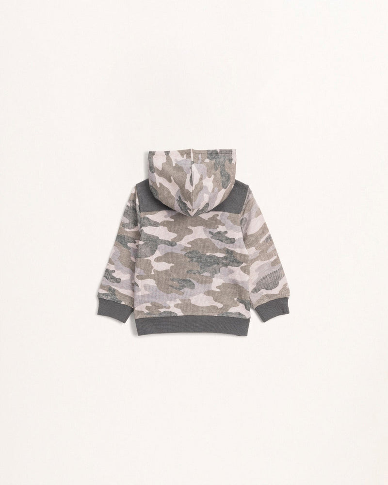 Splendid Toddler Camo Hoodie - Kid's Jacket - Kid's Hoodie - Camo Jacket - Children's Clothing Store - Baby Store - Camp Crib - Big Bear Lake California