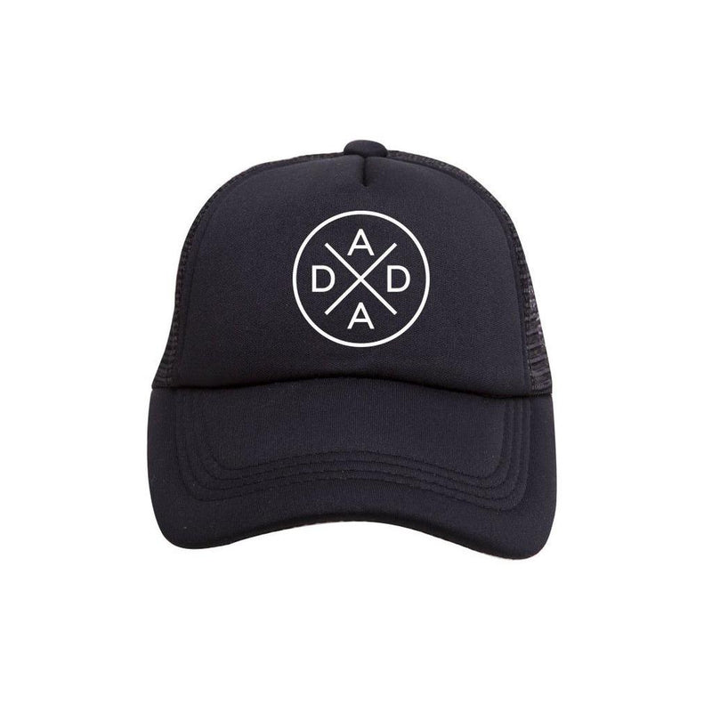 Dada X Trucker Hat - Tiny Trucker Co - Adult Trucker Hat - Trucker Hat - Dad Hat - Dad - Children's Clothing Store - Kid's Store - Baby Store -  Big Bear Lake California - Camp Crib