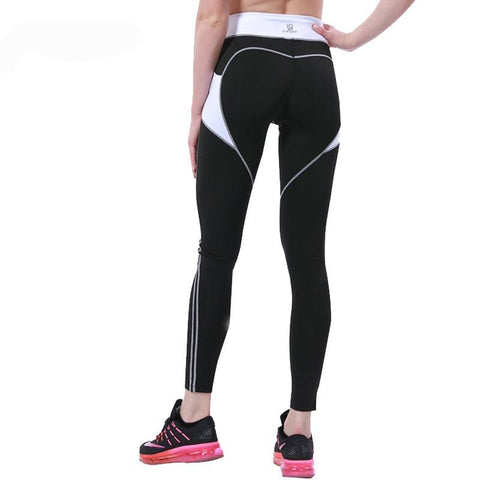 Women Workout Slim Yoga Leggins/Patchwork Sexy Yoga Pants