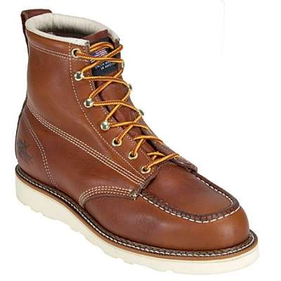 Men's American Heritage Wedge Moc Toe Boots