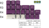 [Pre-Order] GMK Violet on Cream