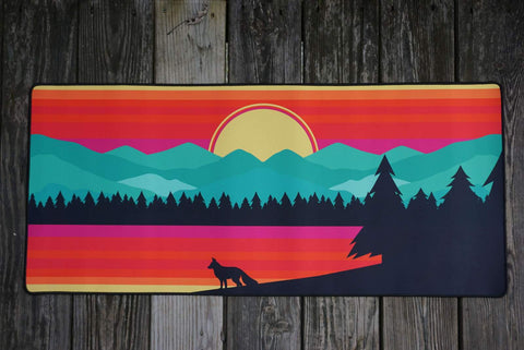 Fox Forest Deskmat