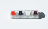 Kailh BOX switch light spring range Red Black White and Brown