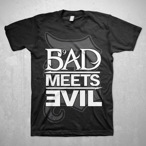 Bad Meets Evil Square Logo Slim Fit T-Shirt