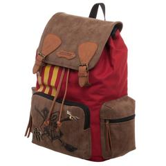 Bioworld - Harry Potter Quidditch Rucksack with Convenient Side Pockets Backpack