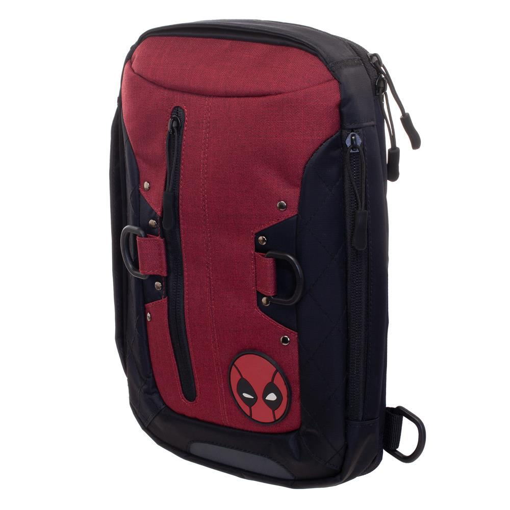 Deadpool Mini Backpack laptop Messenger Bag with USB