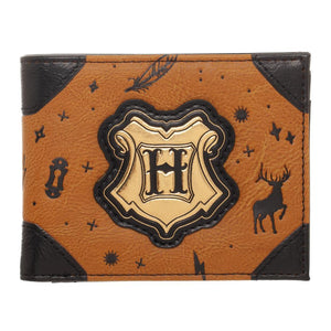 Harry Potter Fashion BiFold Brown and Black Wallet