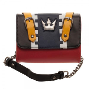 Kingdom Hearts Sora Cosplay Sidekick Handbag Clutch