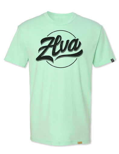ZLVA BEACH LOGO TEE- MINT