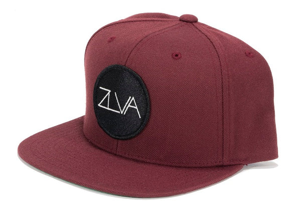 ZLVA 6 PANEL SNAP BACK - MAROON