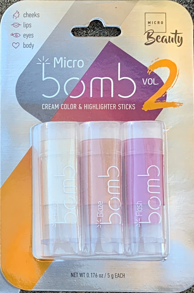 MICRO BOMB CREAM COLOR HIGHLIGHTER TRIO VOL. 2