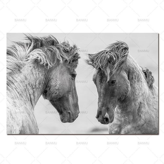 Nordic poster canvas Wall art animal canvas painting home deor Wall ...