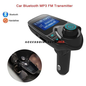 Bluetooth Dual Chargeur Mp3 Radio Transmetteur
