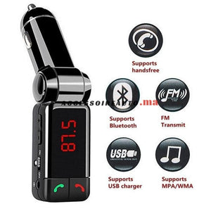 Bluetooth Mp3 Chargeur Radio Transmetteur