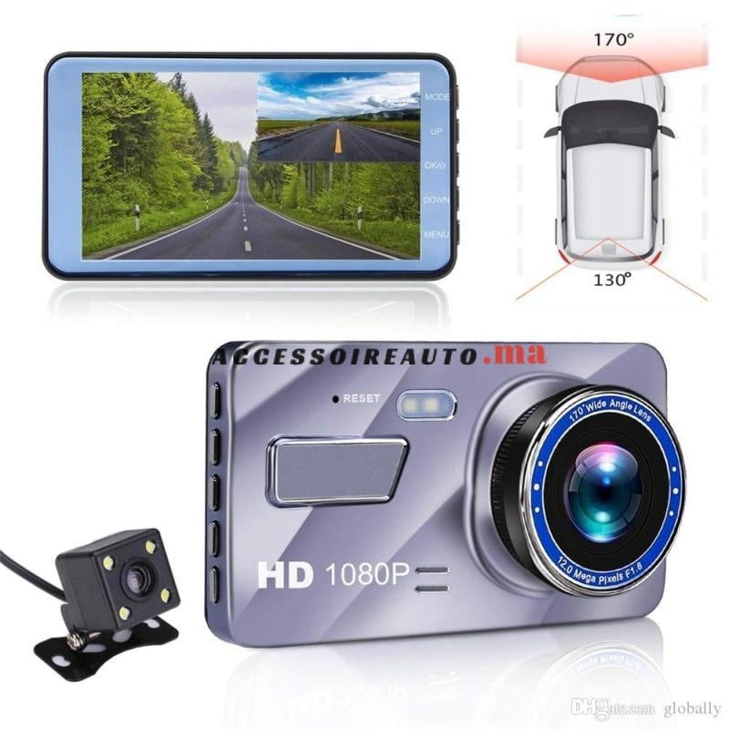 Dvr Full Hd Video Caméra De Voiture 4 Display + Recul