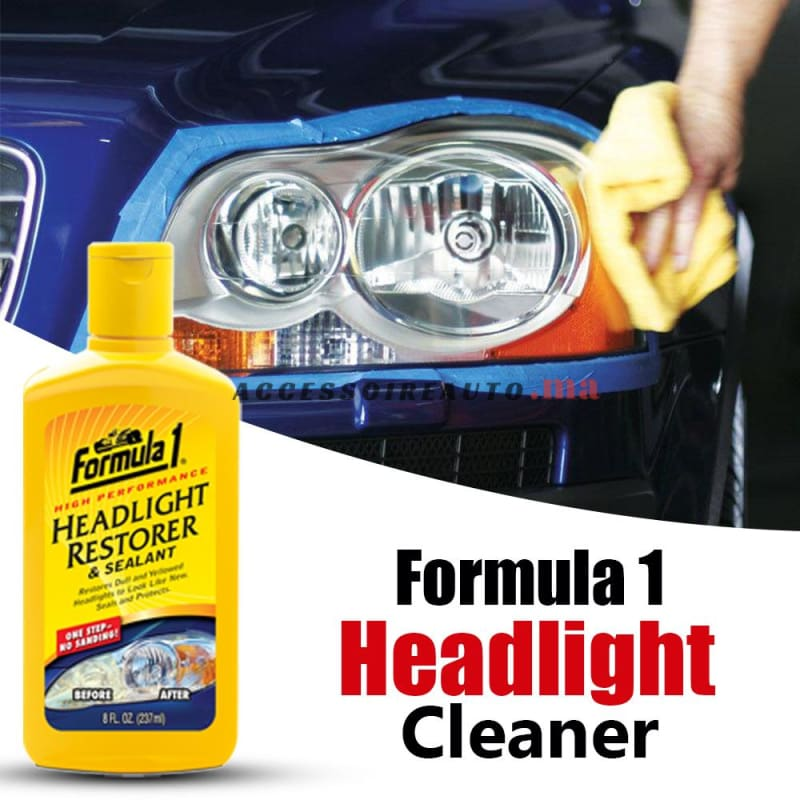 Restorateur Phares ( Headlight Restorer ) Formula 1