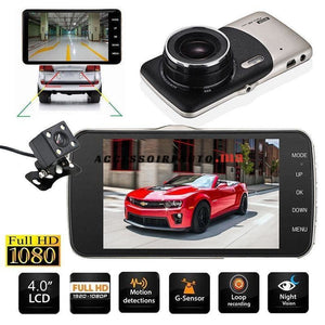 Wdr Full Hd Video Caméra De Voiture 4 Display + Recul
