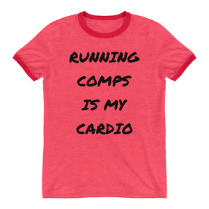 RUN THOSE COMPS SHORT SLEEVED TEE