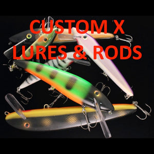 CUSTOM X LURES & RODS
