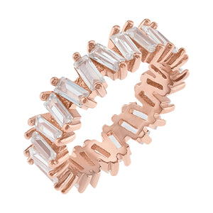 Ultra Sparkle Eternity Band