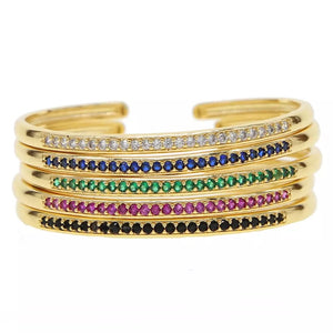 Multicolor Stackable Bangles