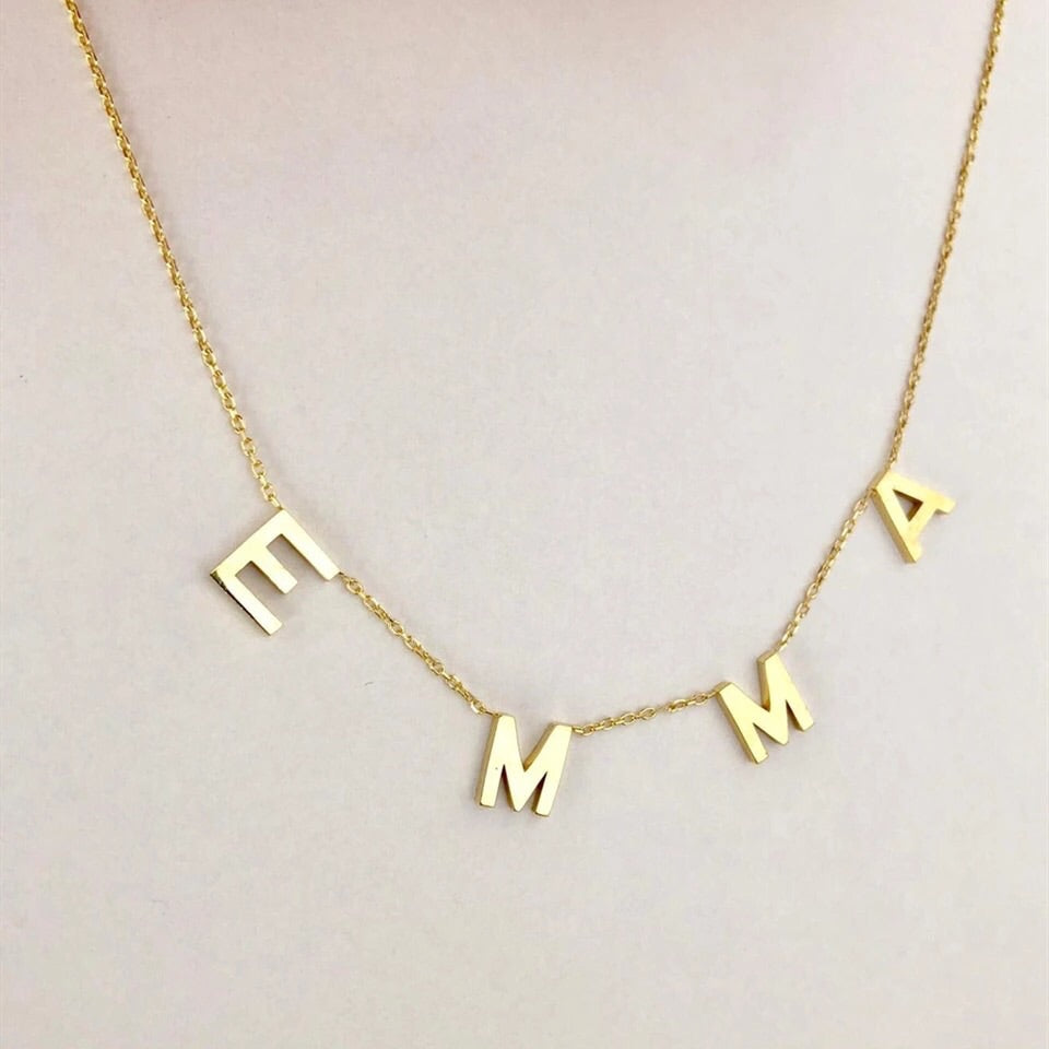 Customizable Letter Necklace