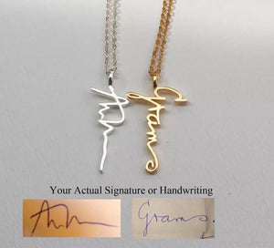 Custom Handwritten Necklace