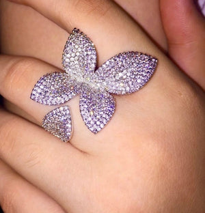 LUXE Butterfly Wrap Ring
