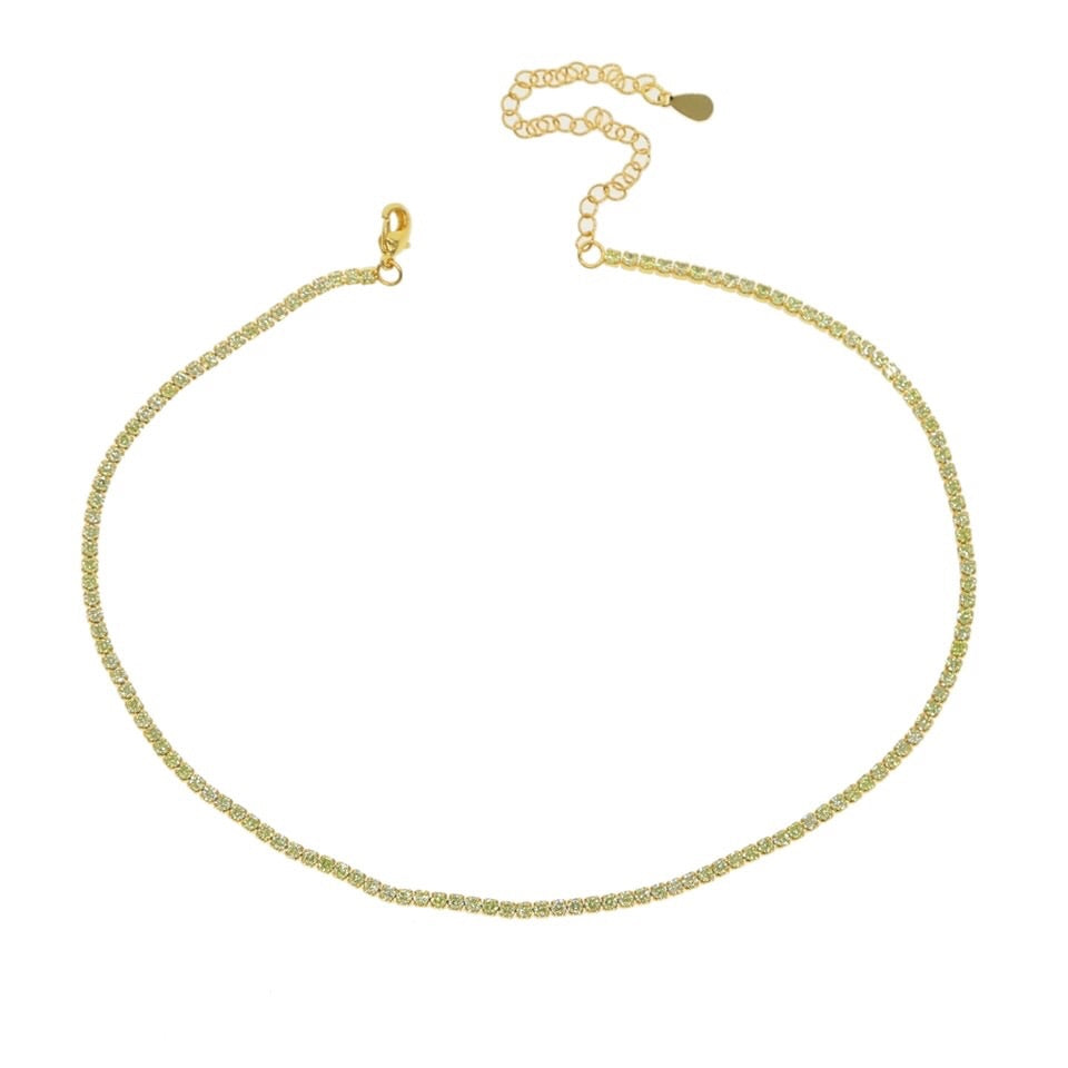 Solid Tennis Choker