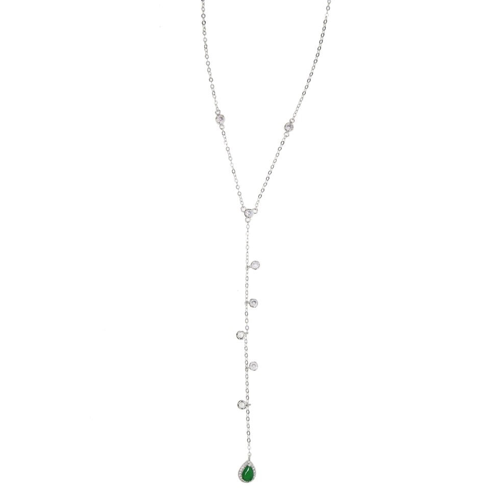 Pear Drop Lariat