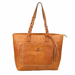 Accessories - Boho Vintage Leather Handbag