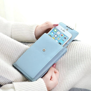 Accessories - Shoulder Strap Cell Phone Wallet