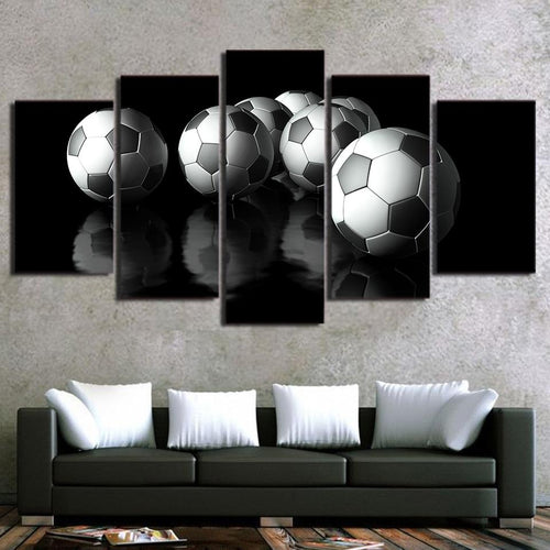 Canvas - Soccer Life 5 Piece Canvas