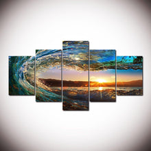 Canvas - Surfing Life 5 Pieces Canvas