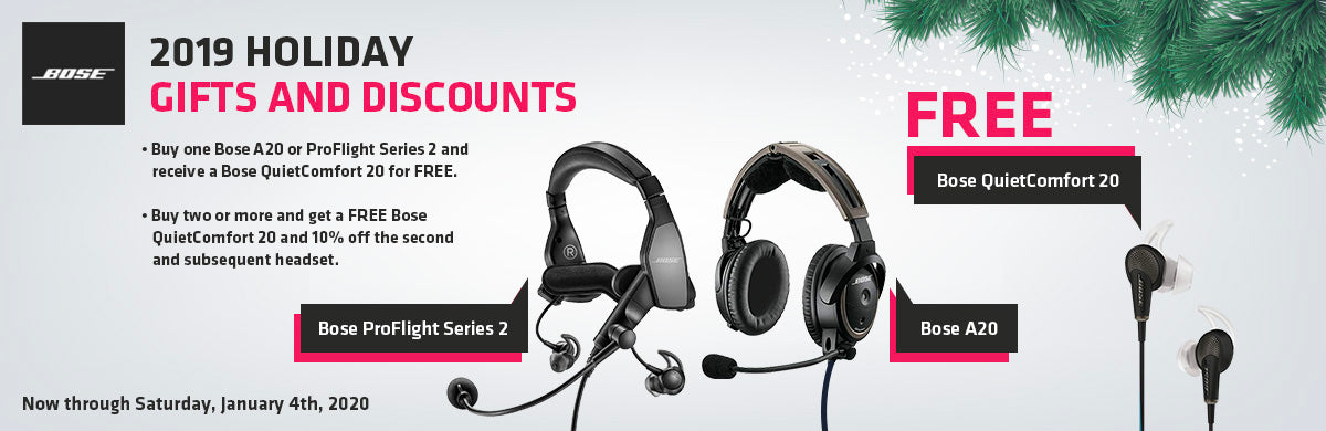 Bose Holiday Promotion