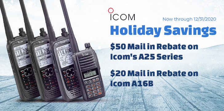 Icom 2020 Holiday Savings