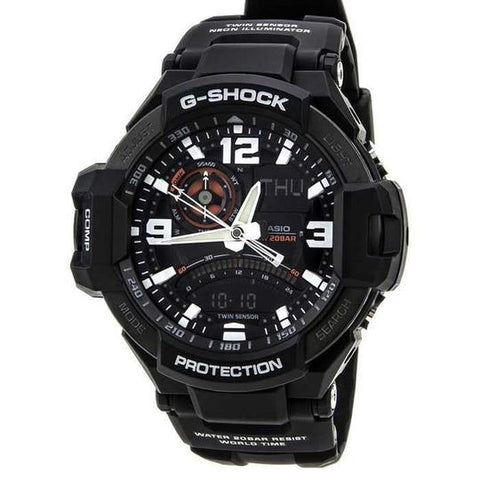Casio Gravity Master G-Shock Aviation Black Watch