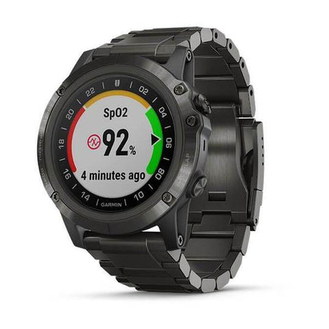 Garmin D2 Delta PX Aviator Watch with DLC Titanium Band (51MM Case)