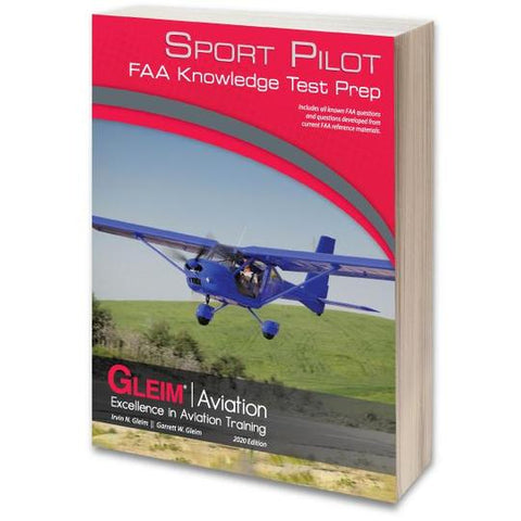 Gleim 2020 Sport Pilot FAA Knowledge Test