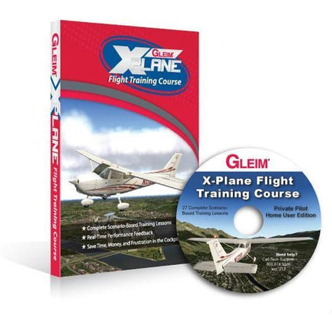 Gleim X-Plane Flight Training Course: Private Pilot