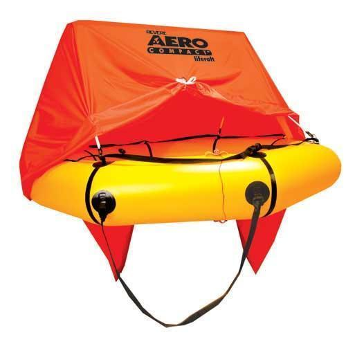 Revere Aero Compact Liferaft Aviation 4 Person Canopy/Standard Kit