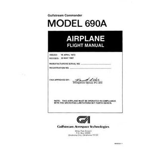 Aero Commander - Aero Commander 690A Flight Manual (part# M690002-1)