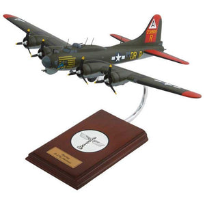 "Aircraft Models - B-17G ""Nine-O-Nine"" Mahogany Model"
