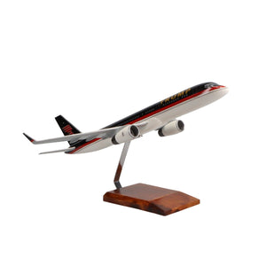 Aircraft Models - Boeing 757-200 Donald Trump Limited Edition Large Mahogany Model
